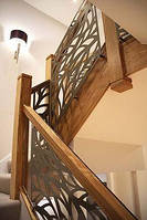 Резные ограждения лестниц, перила для лестниц из МДФ