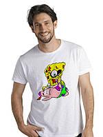 Футболка zombie Sponge Bob