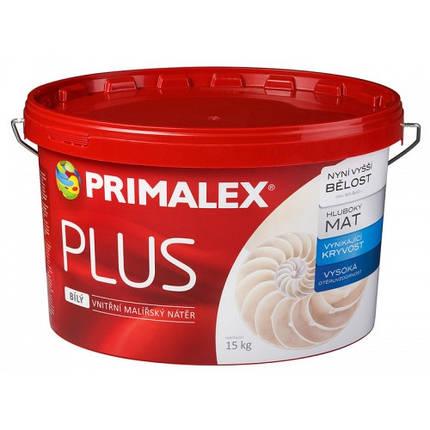 Краска на известковой основе  Primalex Plus, 7,5кг, фото 2