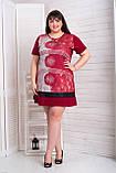Платье женское цвет Бордовый, Черный, Синий, фото 6