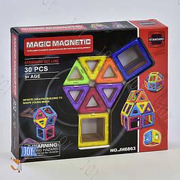 Конструктор магнитный JH 6863 (48/2) 30 деталей, в коробке