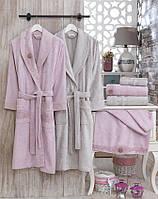"""Семейный набор халатов и полотенец Sikel Бамбук """"Afrodit"""""""