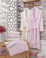 """Семейный набор халатов и полотенец Sikel Бамбук """"Berhamis"""""""