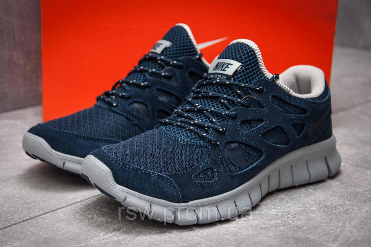 d927a00e Кроссовки мужские Nike Free Run 2+, темно-синие (13442) размеры в ...