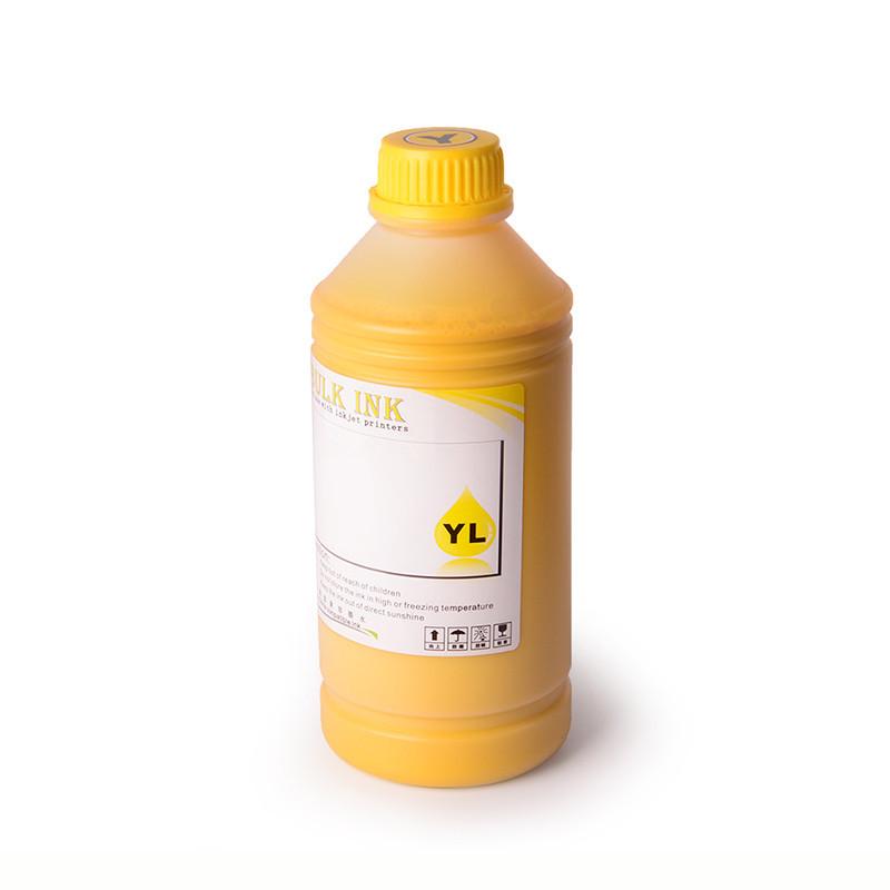 Пигментные чернила Ocbestjet для плоттеров Epson SureColor SC-T3200/5200/7200, Yellow, 500 мл