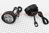 Фара дополнительная светодиодная - 4 LED с креплением, фото 2