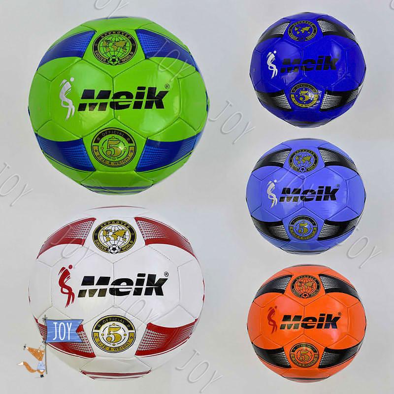 Мяч футбольный С 34188 (50) 5 видов, 400 грамм, материал TPU