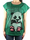 Женская футболка, 44-46-48рр, пандочка, фото 4