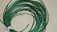 Ротанг зеленый в блестках тонкий