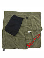 "Полотенце  военное ""Microfibre""  100см*50см MIL-TEC Olive, 16011101"