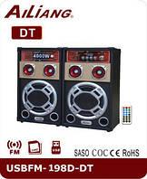 Акустическая система Ailiang USBFM-198D-DT Bluetooth