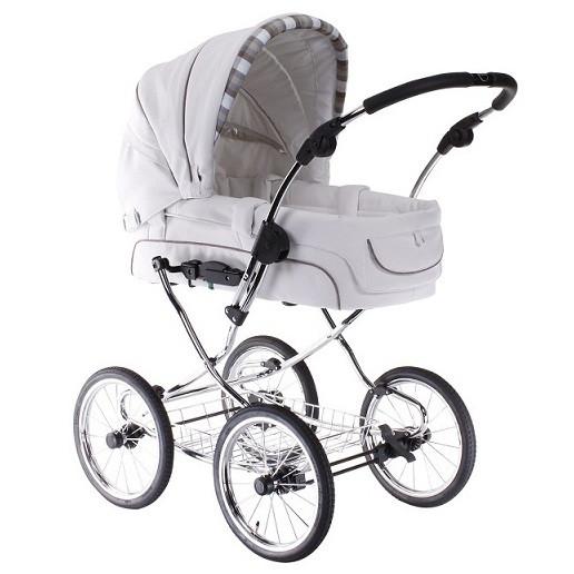 Детская универсальная коляска 2 в 1 Elegance (кожа) Teutonia