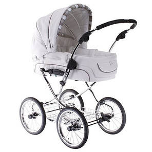 Детская универсальная коляска 2 в 1 Elegance (кожа) Teutonia, фото 2