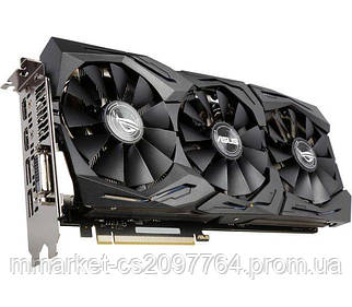 Asus PCI-Ex GeForce GTX 1070 ROG Strix 8GB GDDR5 (256bit) (1632/8000) (DVI, 2 x HDMI, 2 x DisplayPort) (STRIX-GTX1070)