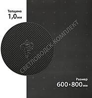 Резина подмёточная XA015 SLIM MICHELIN (Франция), р. 600*800*1мм, цв. черный (black)