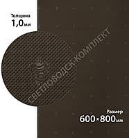 Резина подмёточная XA015 SLIM MICHELIN (Франция), р. 600*800*1мм, цв. темно-коричневый (d.brown)