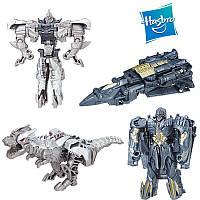 Набор трансформеров Мегатрон и Гримлок, в 1-шаг - Megatron&Grimlock, TF5, One step, Turbo Changer, Hasbro