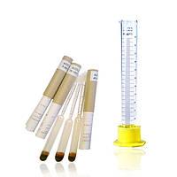Набор лабораторных ареометров-спиртометров АСП-3 + мерный цилиндр 100мл