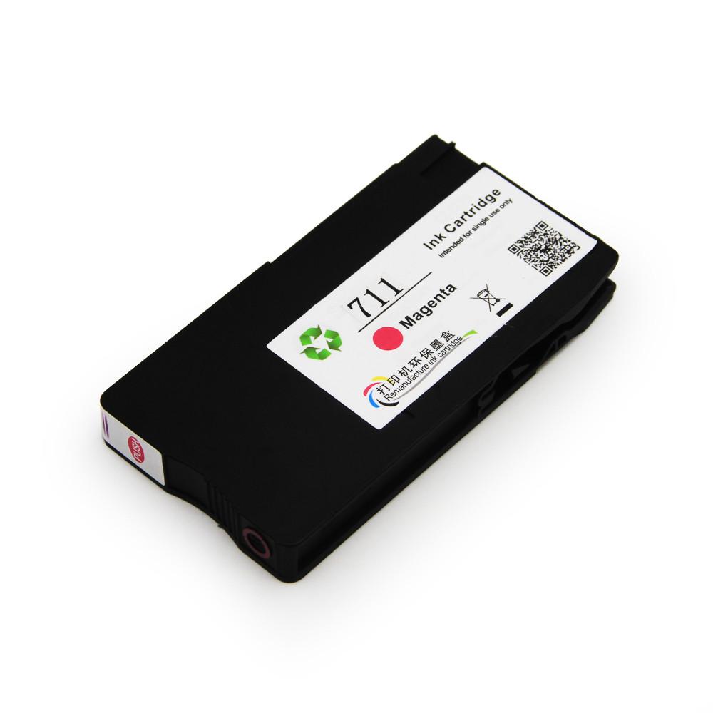 Картридж Ocbestjet HP 711 для HP DesignJet T120/125/130/520/525/530, Magenta, 29 мл