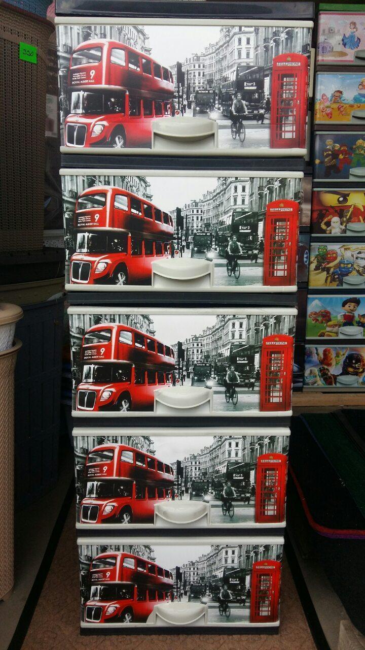Комод пластиковый элиф лондон на 5 ящиков