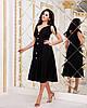 Красивое летнее платье на пуговицах с завышенной талией и завязками на плечах, фото 6