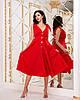 Красивое летнее платье на пуговицах с завышенной талией и завязками на плечах, фото 2
