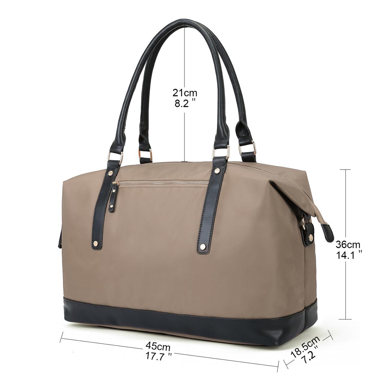 Женская сумка Ecosusi бежевая
