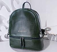 Женский рюкзак натуральная кожа хаки, фото 1