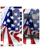 Наклейка на айфон 5 / 4 Флаг  США