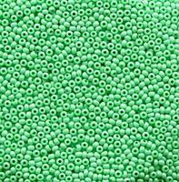 Бісер Preciosa Чехія №16356, зелений колір