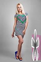 Платье  летнее полосатое Юнга