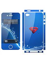 Наклейка на айфон 4 / 5  Superman