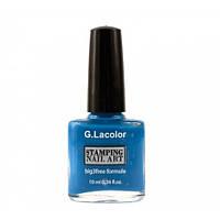 Лак для стемпинга G.La color № 007 (синий), 10 мл
