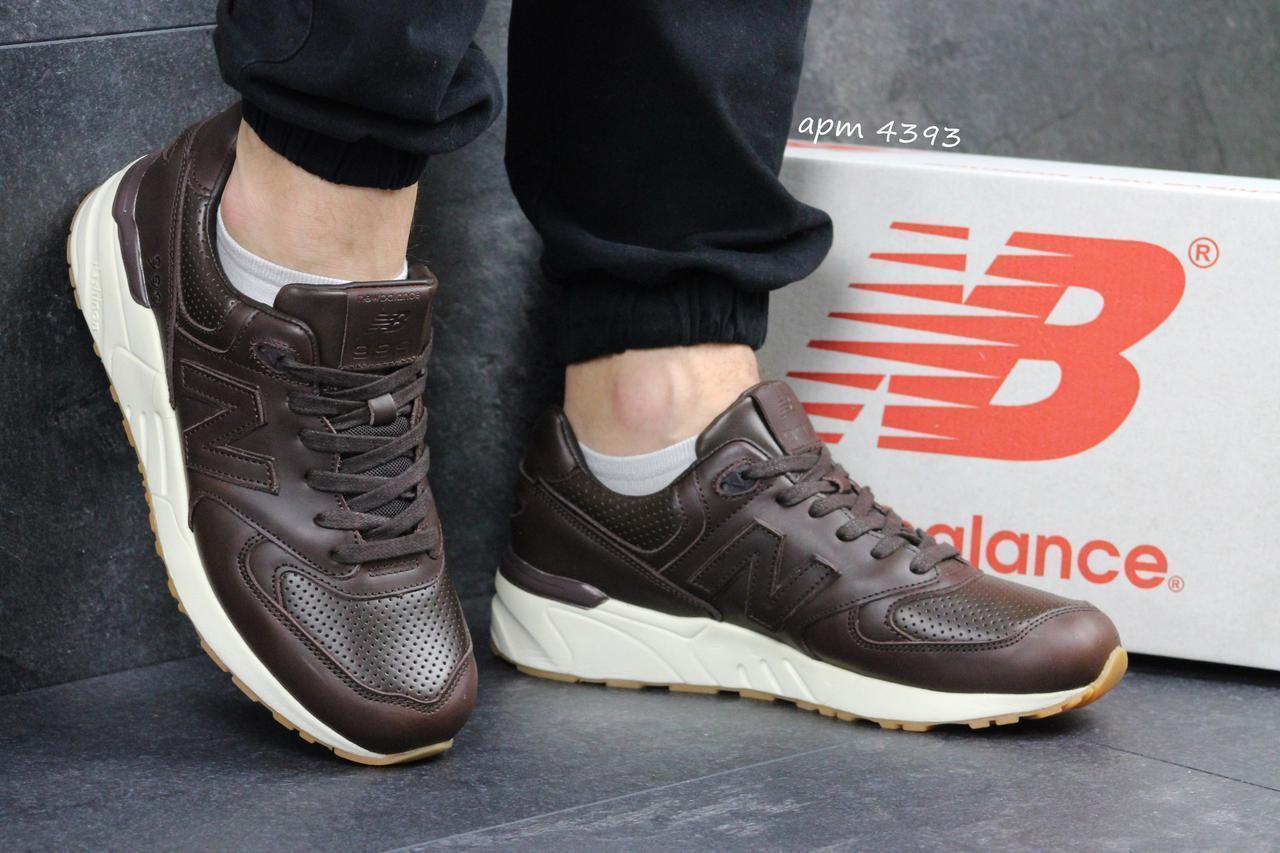 f4df6694 Мужские кроссовки в стиле New Balance 999, коричневые - Luxury в Днепре