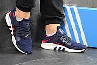 Мужские кроссовки в стиле Adidas Equipment, тёмнo-cиние 42 (26,3 см)