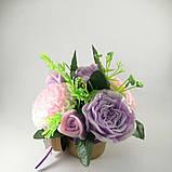 Букет з мильних квітів Квіткова композиція з мила ручної роботи, фото 3
