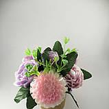 Букет з мильних квітів Квіткова композиція з мила ручної роботи, фото 2
