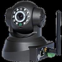 IP видеокамера F980A 0,3Мп, WiFi, микрофон, динамик, Ик, поворотная