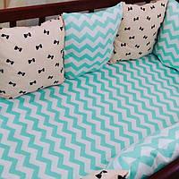 Подушки-защита в детскую кроватку