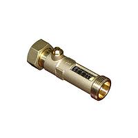 """Расходомер BRV 03654DN15P-12 3/4"""", 2-12 л/мин, накидная гайка"""