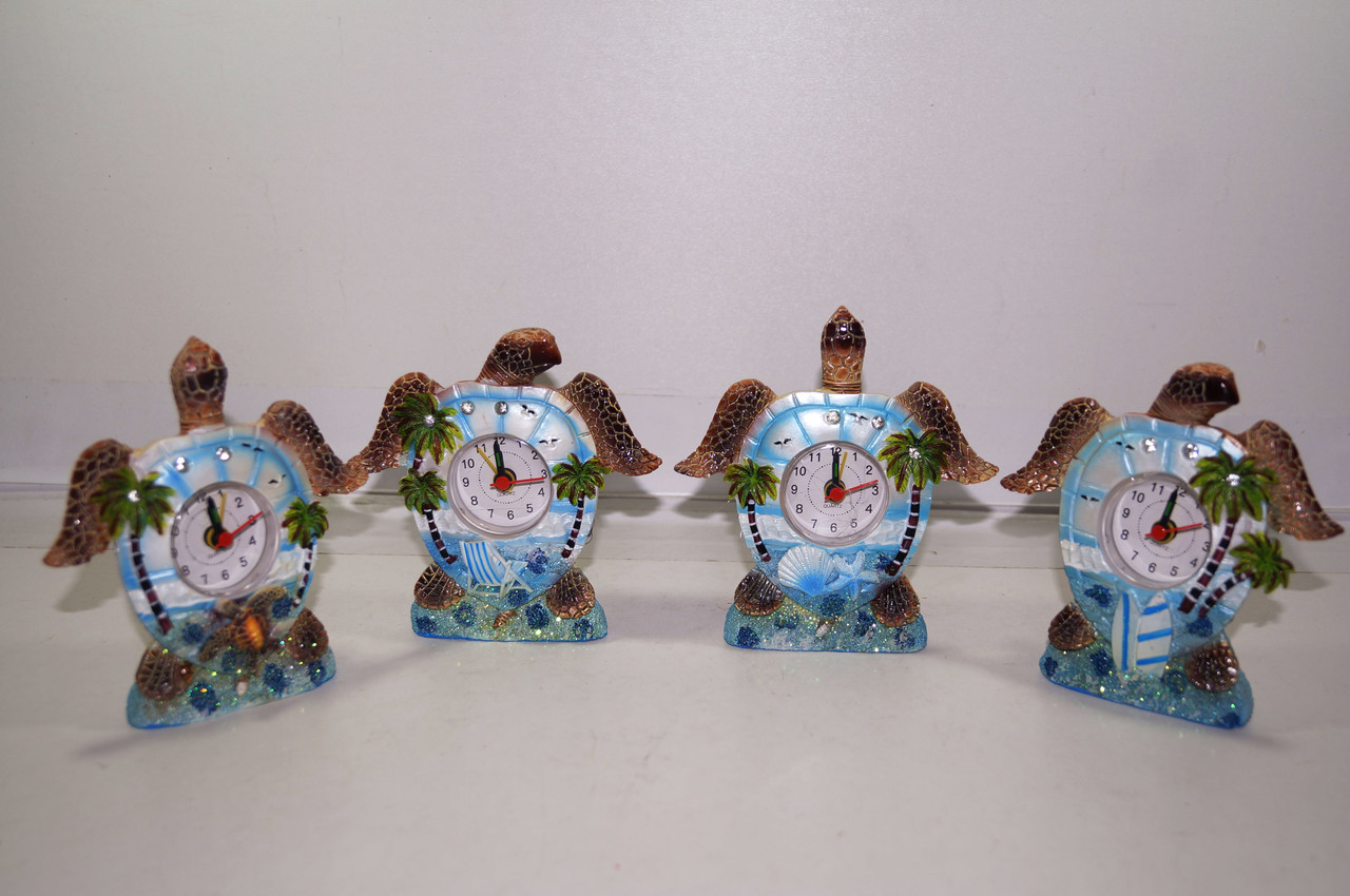 Черепаха с часами