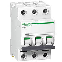 Автоматический выключатель iC60N 3P 2A B Schneider Electric (A9F73302), фото 1