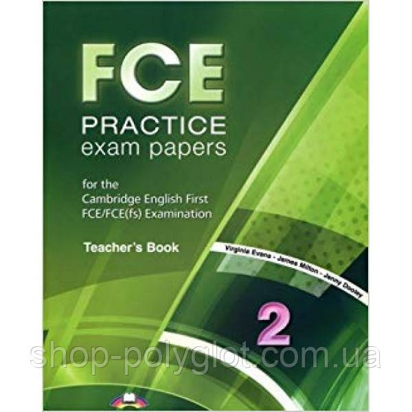 FCE Practice Exam Papers 2 Teacher's Book