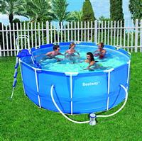 Каркасный круглый бассейн, размер 457х122см