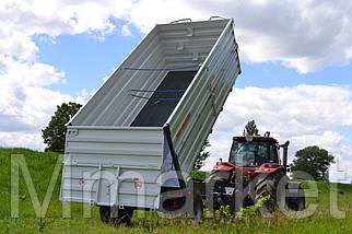 Прицеп самосвальный тракторный 2ТСП-21 с выгрузкой на три стороны