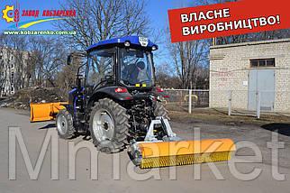 Щетка уборочная дорожная коммунальная на любой мини трактор. Щітка минитрактор