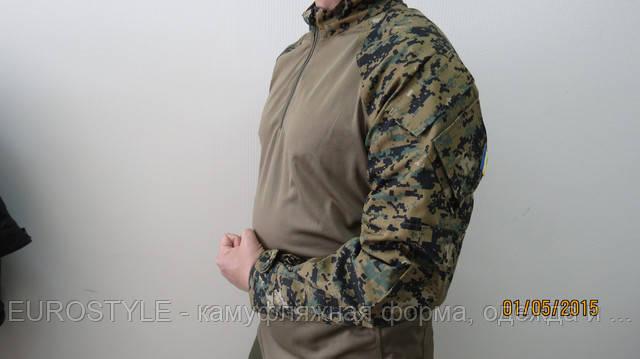 Тактическая рубашка (убакс) MARPAT Woodland