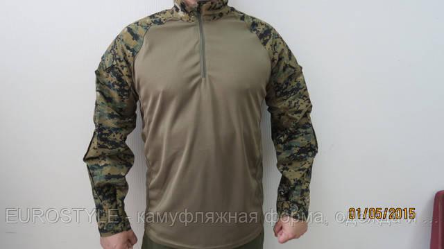 Тактическая рубашка (убакс) MARPAT Woodland купить оптом