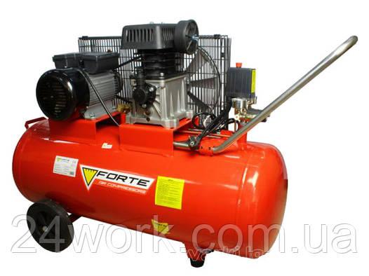 Компрессор Forte ZA 65-100 с ременным приводом