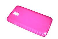 Глянцевый TPU чехол для Samsung Galaxy Note 3 N9000 розовый